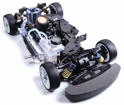 タミヤ(TAMIYA)/44042/TG10-Mk.2 シャーシキット エンジン組立キット ラジコン/エンジンカー