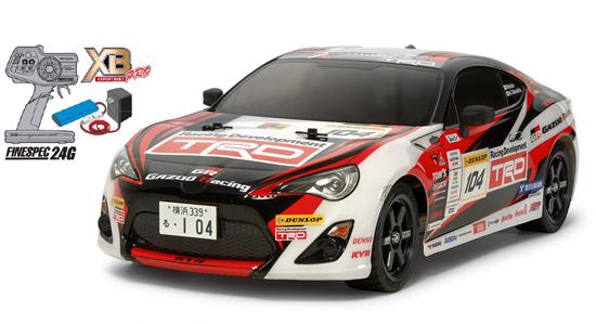 【基本送料無料】【ラジコン】タミヤ/57860/XB GAZOO Racing TRD 86(TT-02)(メーカー純正品)(完成品)【smtb-k】【w3】