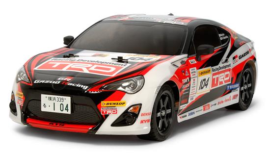 【基本送料無料】【ラジコン】タミヤ 58574 TT-02 GAZOO Racing TRD 86 キット+ボールベアリングセット(未組立品)【smtb-k】【w3】