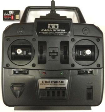 【基本送料無料】タミヤアフター/ATTACK 4WD(アタック4WD)2.4GHz 4ch 送受信機セット【smtb-k】【w3】