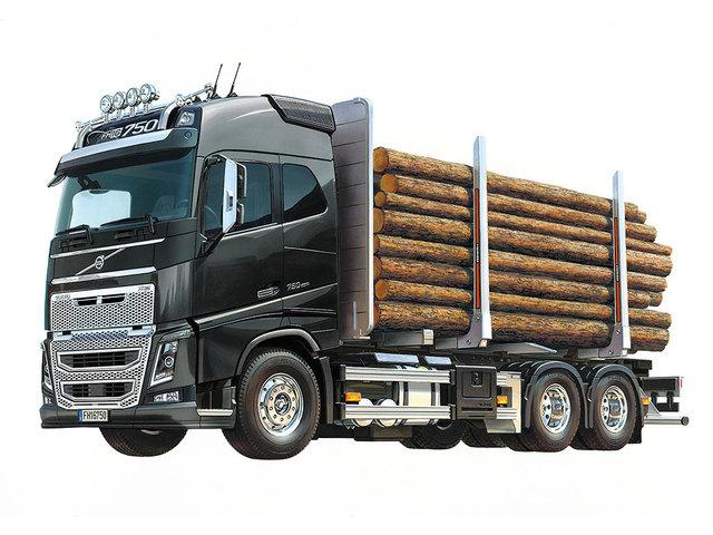 【基本送料無料】タミヤ(TAMIYA)/56360/1/14RC ボルボFH16グローブトロッター750 6x4ティンバートラック(未組立)