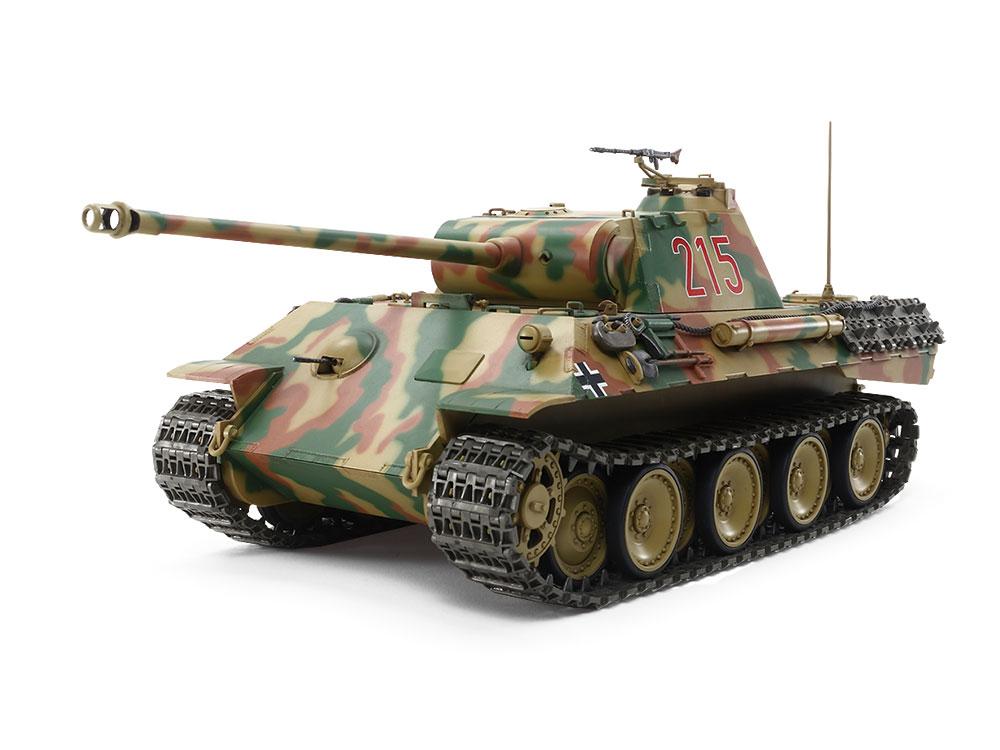 【基本送料無料】タミヤ(TAMIYA)/56605/1/25RC ドイツ戦車 パンサーA (専用プロポ付き) (未組立)
