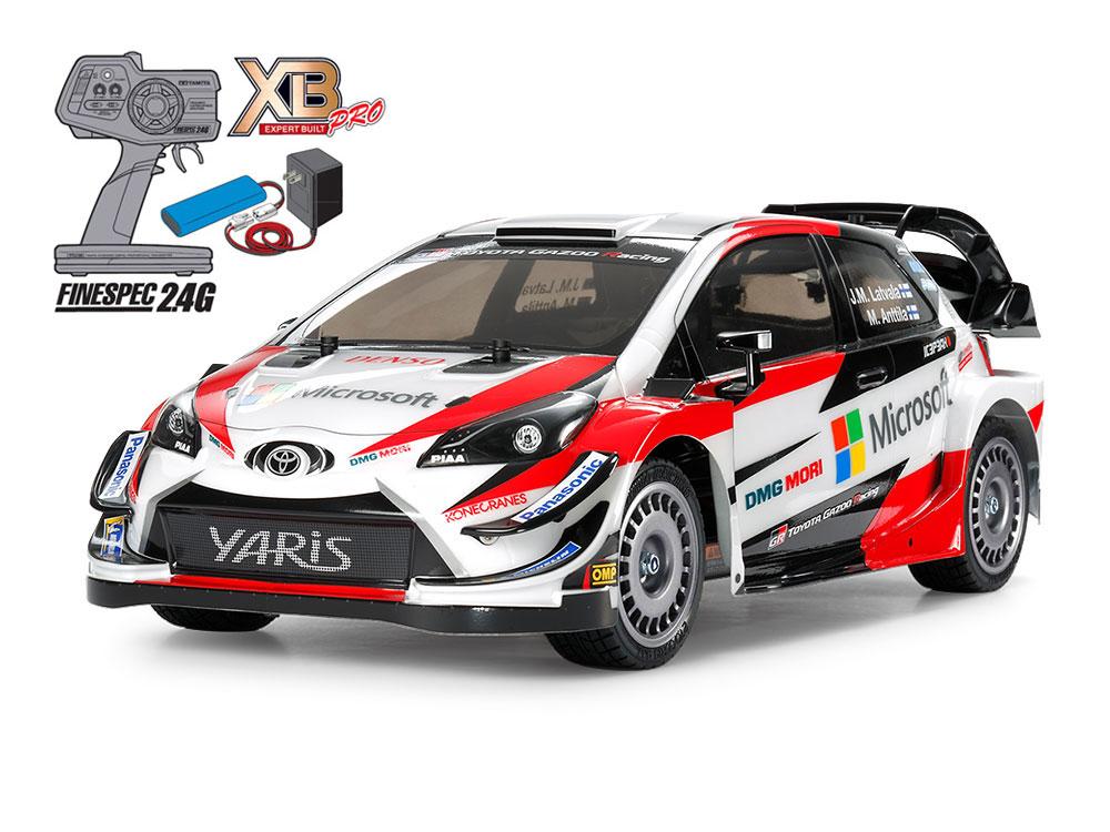 【基本送料無料】タミヤ(TAMIYA)/57903-S/XB 1/10 トヨタ ガズー レーシング WRT/ヤリス WRC (TT-02シャーシ)(完成品)コンボスーパーセット