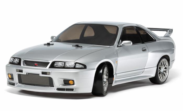 【基本送料無料】タミヤ(TAMIYA)/58604/TT-02D NISSAN スカイライン GT-R R33(未組立品)【smtb-k】【w3】
