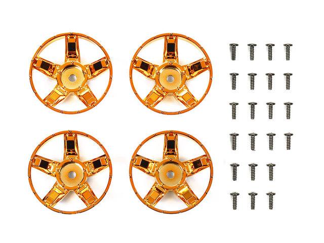 ラジコン 夢空間取り扱い商品 アウトレット 記念日 ネコポス対応 タミヤ TAMIYA 47415 スポーク Sパーツ オレンジメッキ WR-02CB