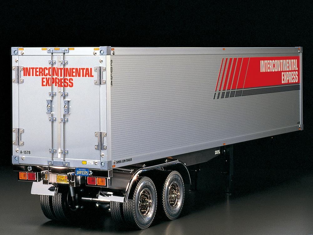 【基本送料無料】タミヤ(TAMIYA)/56302/1/14RC トレーラートラック用 パネルバン セミトレーラー
