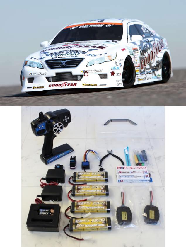 【基本送料無料】ヨコモ/DP-MKX/ドリフトパッケージ GOODYEAR Racing GRX130 Mark X スーパーセット【smtb-k】【w3】
