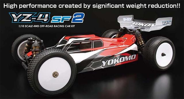 【基本送料無料】YOKOMO(ヨコモ)/B-YZ4SF2/YZ-4SF2 4WDレーシングオフロードカー(未組立)