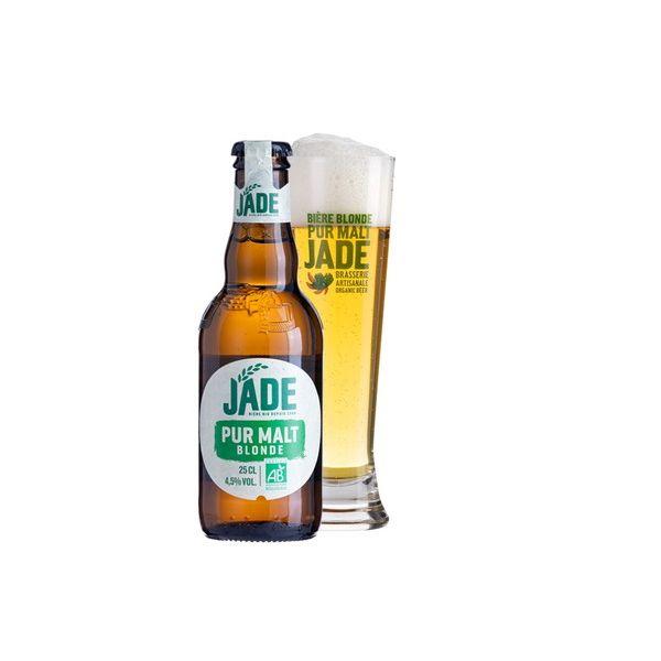 ジェード・オーガニック ブロンド 瓶 250ml×24本入り【ケース売り】 ビール フランス【送料無料】