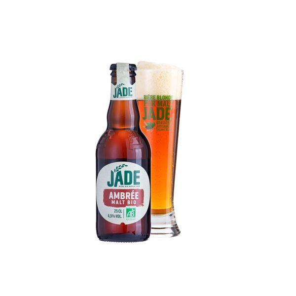 ジェード・オーガニック アンバー 瓶 250ml×24本入り【ケース売り】 ビール フランス【送料無料】