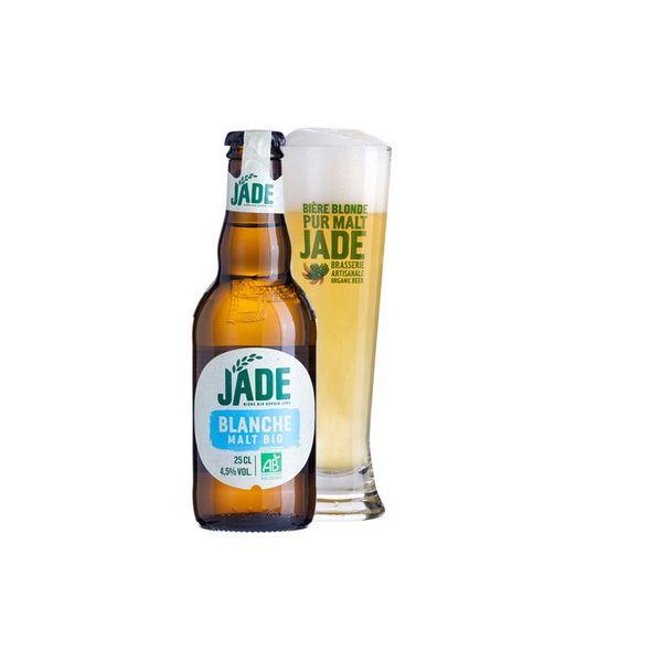 ジェード・オーガニック ブランシェ 瓶 250ml×24本入り【ケース売り】 ビール フランス【送料無料】