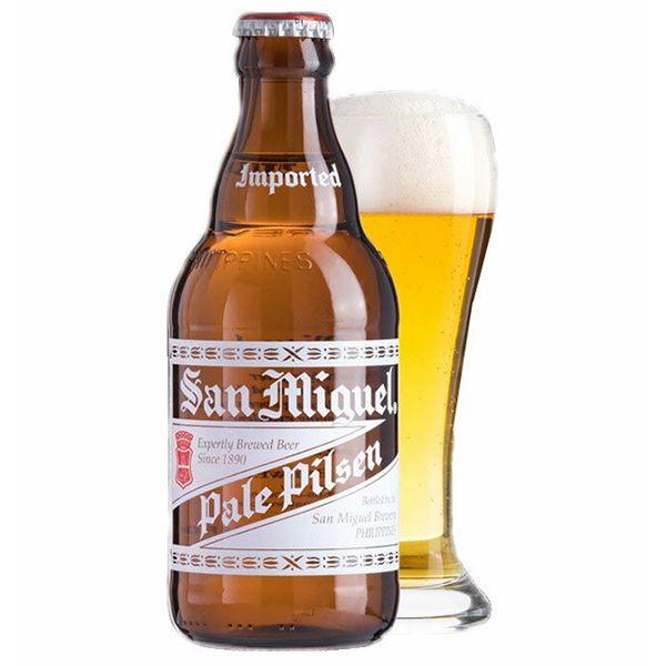 サンミゲール 瓶 320ml×24本入り【ケース売り】 ビール フィリピン【送料無料】