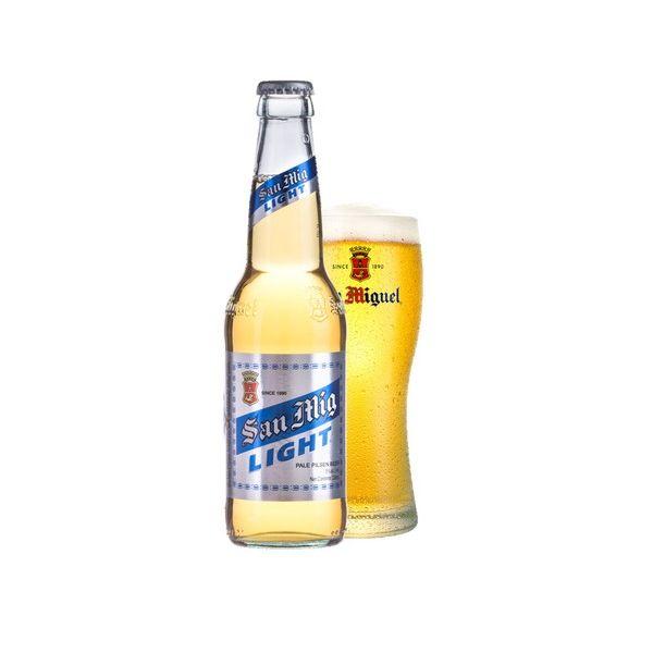 サンミゲール・ライト 瓶 330ml×24本入り【ケース売り】 ビール 香港【送料無料】
