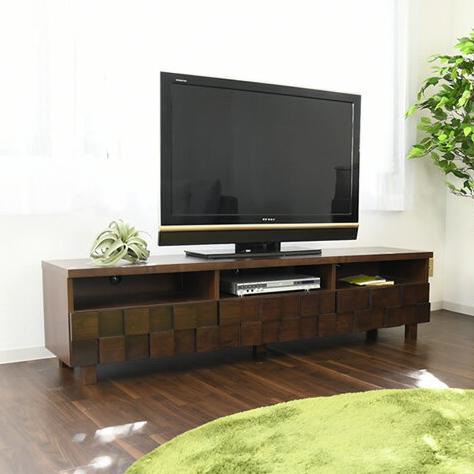 テレビ台 テレボード 幅180cm 収納 桐 TVボード テレビボード おしゃれ(代引不可)【送料無料】【S1】