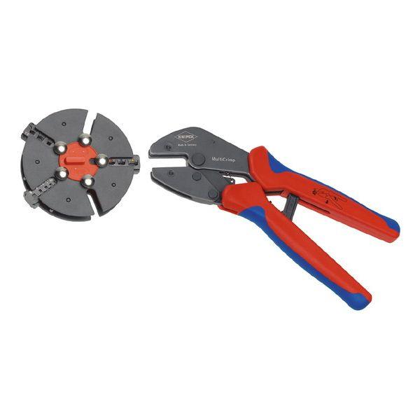 KNIPEX(クニペックス) 9733-01 マルチクリンプ マガジン式圧着工具【送料無料】
