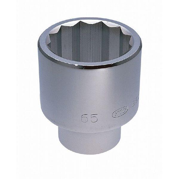 KTC 京都機械工具 B50-55 (25.4SQ)ソケット(十二角)(代引不可)