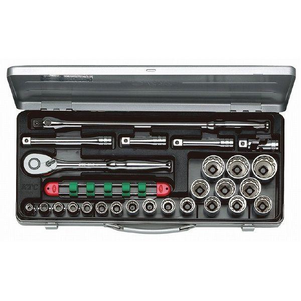 KTC 京都機械工具 TB420X (12.7SQ)ソケットレンチセット(ミリ)(代引不可)【送料無料】