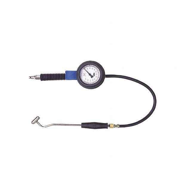 KTC 京都機械工具 AGT232 タイヤエアゲージ 0-1200KPA (ダブルコネクター)(代引不可)【送料無料】