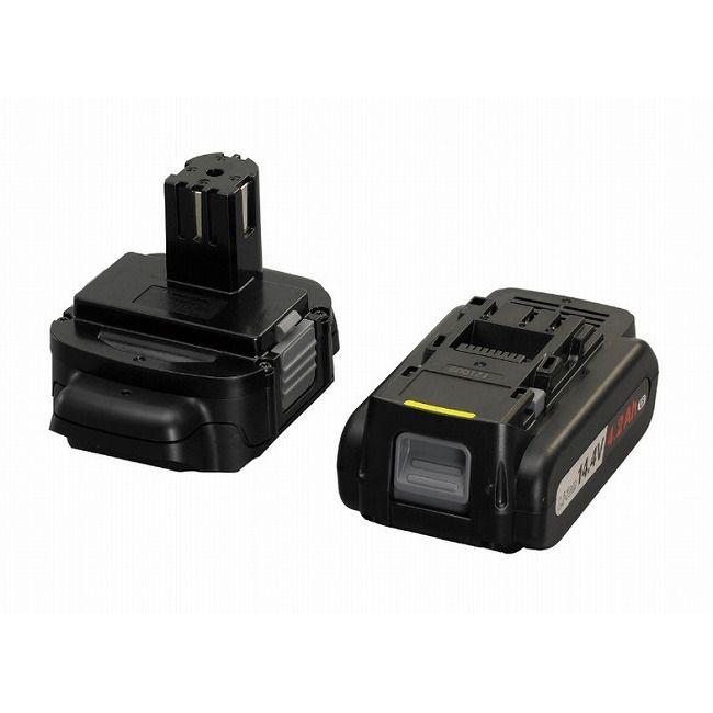 パナソニック EZ9740ST 14.4V LS電池パック 電池アダプタセット(代引不可)【送料無料】