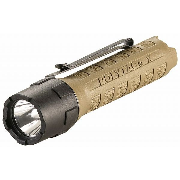 STREAMLIGHT ストリームライト 88602 ポリタックX コヨーテ CR123A(代引不可)【送料無料】
