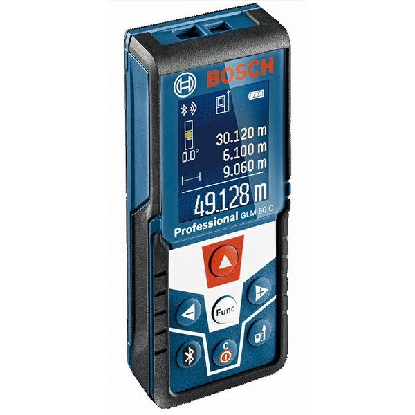 BOSCH ボッシュ GLM50C データ転送レーザー距離計(代引不可)【送料無料】