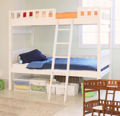 ベッド シングル 2段ベッド 二段ベッド 子供 大人 コンパクト フレーム 木製 2段ベッド ORTAオルタ 木製2段ベッドハイタイプ(代引不可)【送料無料】