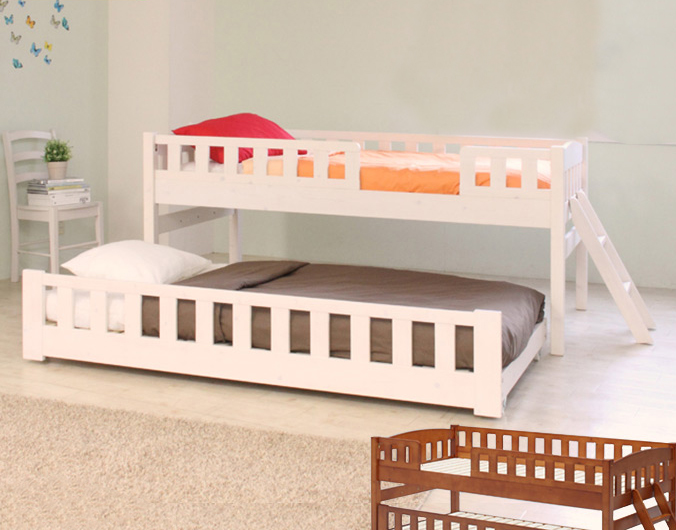ベッド シングル 2段ベッド 二段ベッド 子供 大人 コンパクト フレーム 木製 2段ベッド ORTAオルタ 木製ツインベッド 2段ベッド(代引不可)【送料無料】