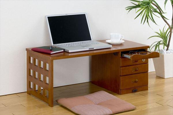 折りたたみ式文机(スライドテーブル付き) LS-300(代引不可)【送料無料】【int_d11】