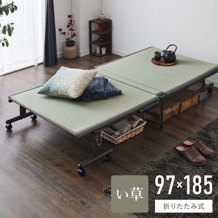 畳式折りたたみベッドベッド 折りたたみ 畳式 ベッド 折りたたみベッド(代引不可)【送料無料】