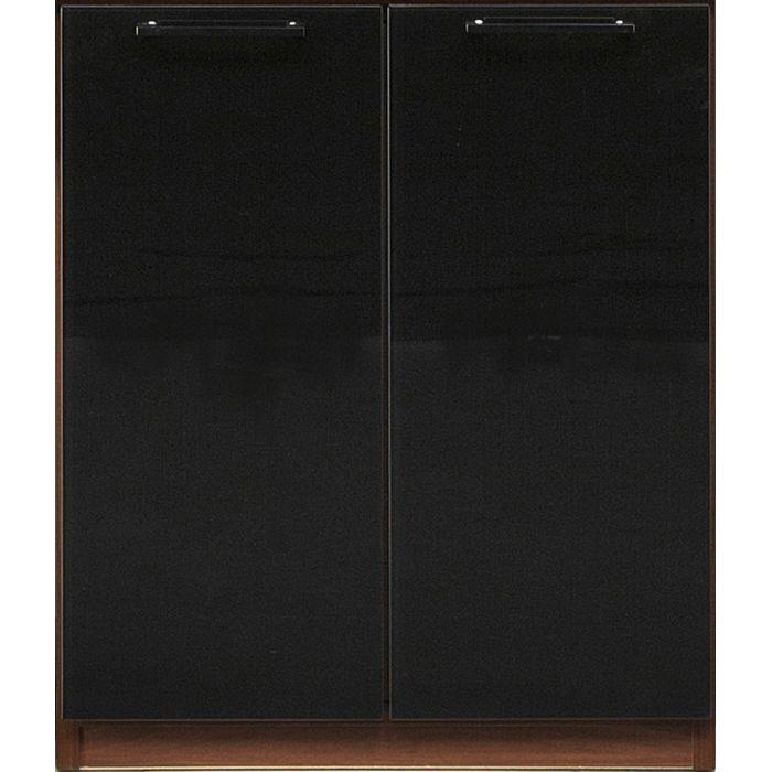 コレクションラック 幅60cm×高さ71cm 下台E 扉 国産 コレクションケース コレクションボード 飾り棚 ガラス棚 ショーケース(代引不可)【送料無料】【inte_D1806】