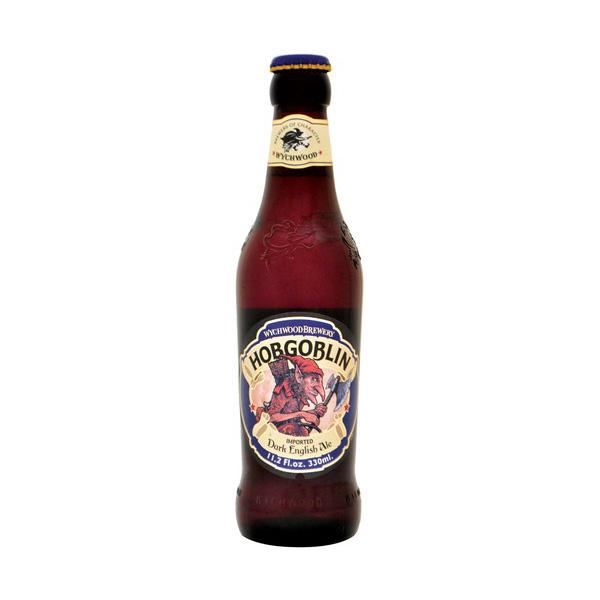 ホブゴブリン 330ml/瓶 (Hobgoblin) ダークエール ビール イギリス 【1ケース販売:24本入り】【送料無料】