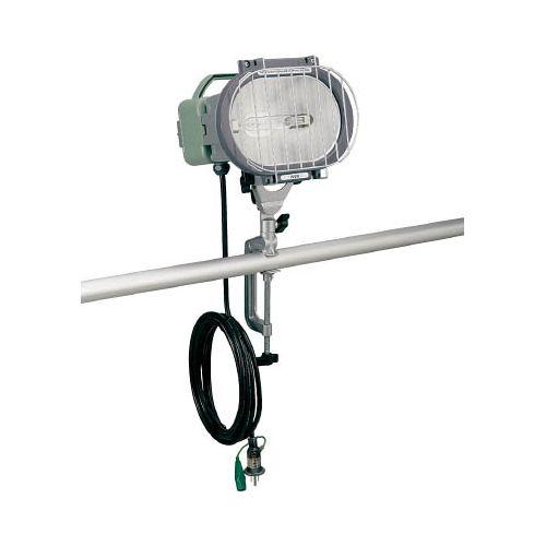 ハタヤ 瞬時再点灯型150Wメタルハライドライト5m電線付バイス取付タイプ MLV105KH(代引き不可)【送料無料】