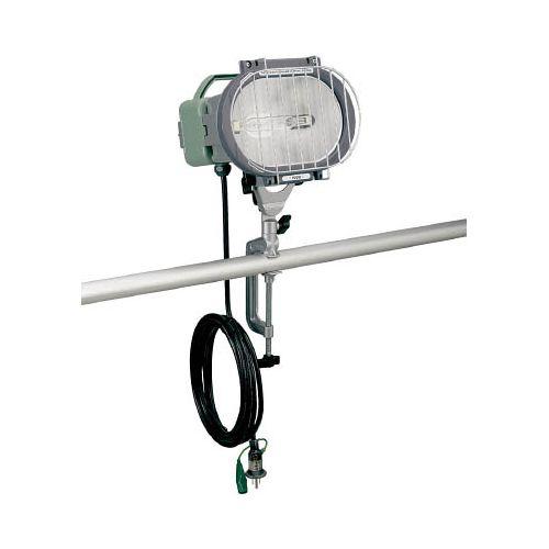 ハタヤ 瞬時再点灯型150Wメタルハライドライト10m電線付バイス取付タイプ MLV110KH(代引き不可)【送料無料】