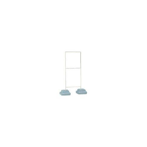ユニット 標識スタンドウェイト付600×600用 350×950×1549H 86833A(代引き不可)【送料無料】