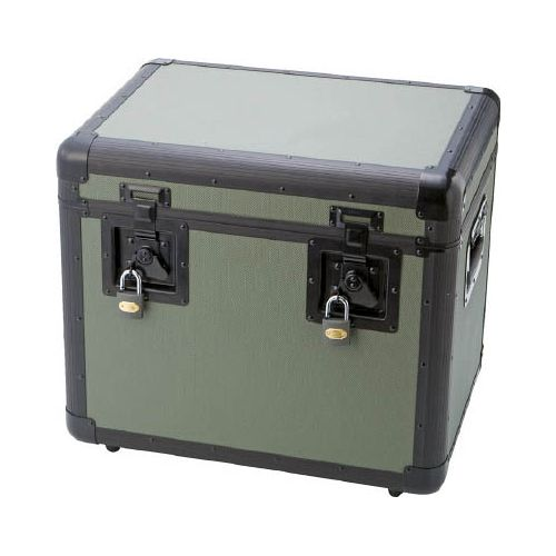 TRUSCO 万能アルミ保管箱 オリーブドラブ 480X360X410 TAC480OD(代引き不可)