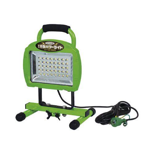 日動 LEDパワーライト20W 床スタンド型 LEN20W40PMS(代引き不可)【送料無料】