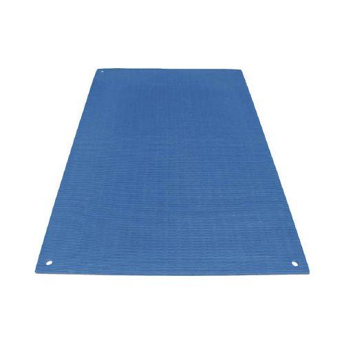 ワニ印 養生敷板 ワニ板(WANIBAN)ブルー 16MM厚1.1M×1.8M 4945(代引き不可)