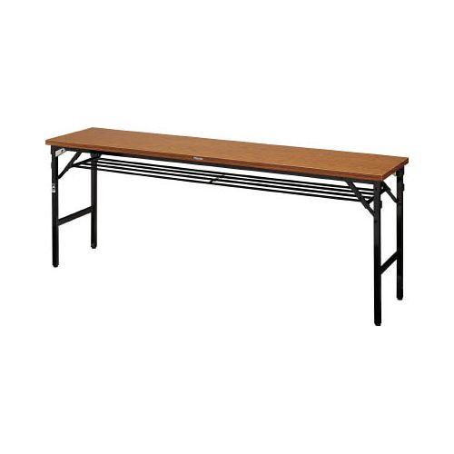 TRUSCO 折畳会議テーブル ワイドクランク 1800X600 ストッパー付 TSMW1860(代引き不可)【送料無料】