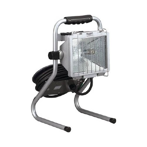 ハタヤ 防雨型ドラムスタンドハロゲンライト 500W 100V電線7m PHD507N(代引き不可)【送料無料】