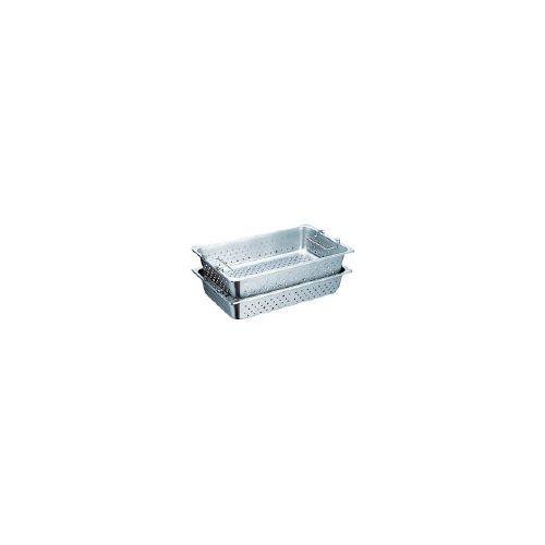 スギコ ハンドル付穴明パン SUS304 1/1サイズ 530×325×150 SH1906GPH(代引き不可)【送料無料】