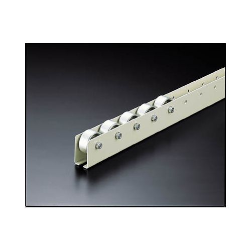 TRUSCO ホイールコンベヤ プレス製Φ40X20 P50XL2000 V40T502000(代引き不可)