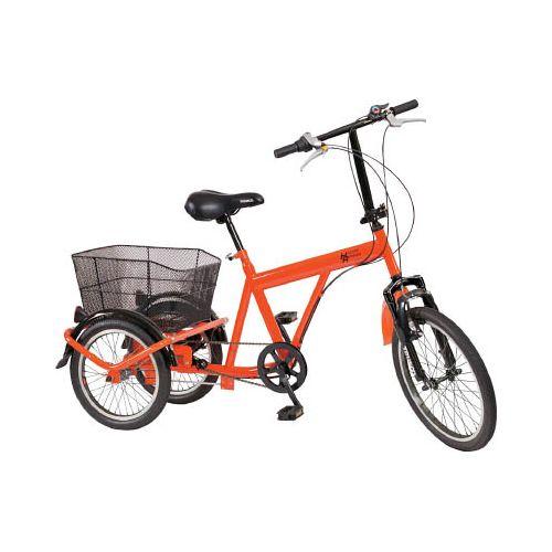 TRUSCO 構内・災害時用ノーパンク三輪自転車 ハザードランナートライ THR5503(代引き不可)【送料無料】