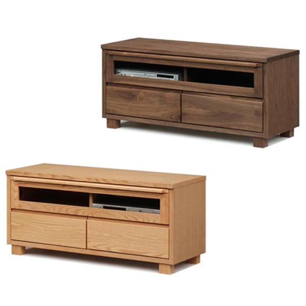 【国産 大川家具 完成品】 TVボード 幅104cm 木目 木製 テレビ台 テレビボード(代引不可)【送料無料】