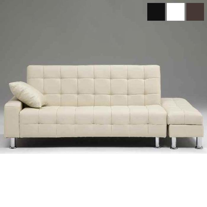 ソファベッド 合皮 2.5人掛け 開梱設置無料 完成品 ソファーベッド ソファ sofa おしゃれ(代引不可)【送料無料】