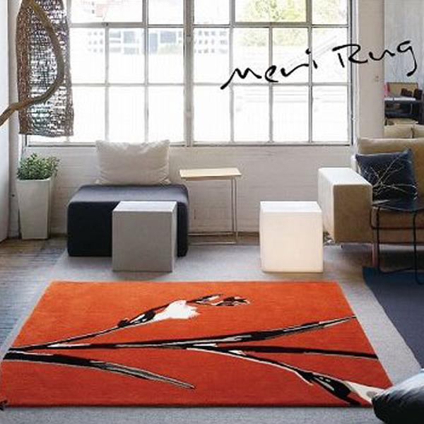 ラグ ラグマット 140X200 ART MUSIUM MERI RUG カーペット 絨毯 カワイイ オシャレ ホットカーペット対応 スミノエ(代引不可)【送料無料】