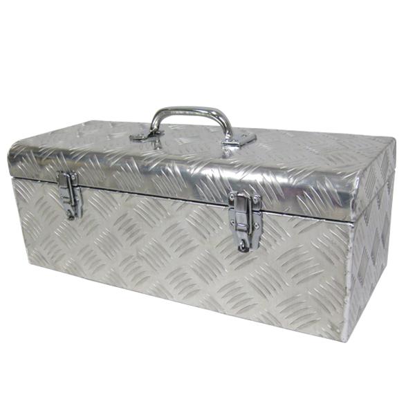 工具ボックス522 高品質ロック付 アルミ工具箱 ツールボックス アルミ工具BOX 工具BOX 工具 ボックス(代引不可)【送料無料】【int_d11】