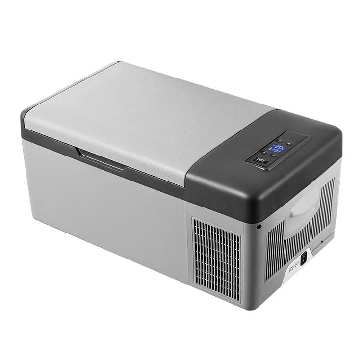 ポータブル冷凍冷蔵庫 15L 冷蔵庫 冷凍庫 ポータブル AC DC クーラーBOX クーラーボックス 車載 釣り BBQ アウトドア お出かけ(代引不可)【送料無料】