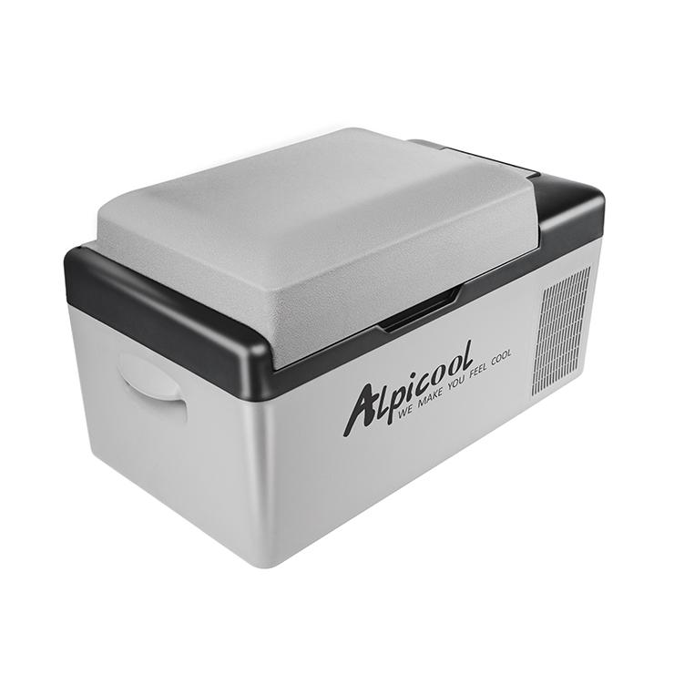 ポータブル冷凍冷蔵庫 20L 冷蔵庫 冷凍庫 ポータブル AC DC クーラーBOX クーラーボックス 車載 釣り BBQ アウトドア お出かけ(代引不可)【送料無料】