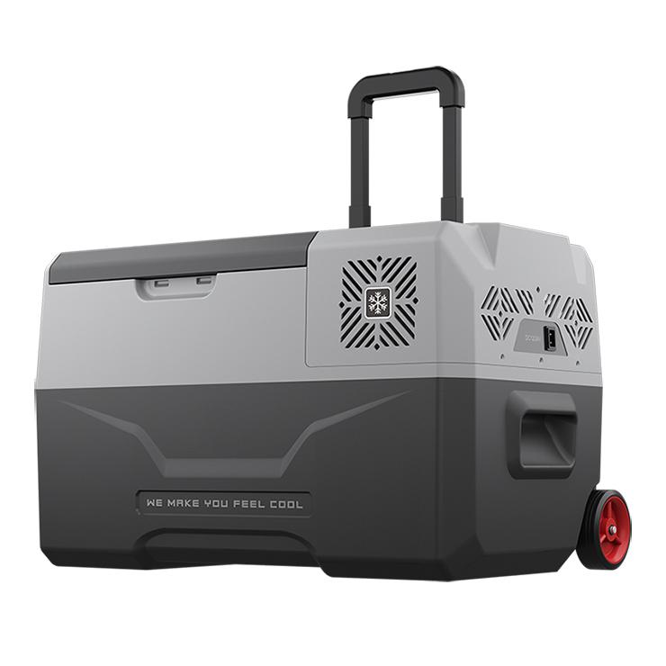 ポータブル冷凍冷蔵庫 30L 冷蔵庫 冷凍庫 ポータブル AC DC クーラーBOX クーラーボックス 車載 釣り BBQ アウトドア お出かけ(代引不可)【送料無料】