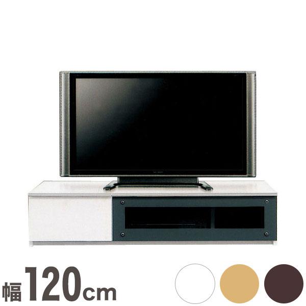 テレビ台 テレビボード ローボード 完成品 日本製 国産 幅120.3cm 奥行46.5cm 高さ28cm (代引不可)【送料無料】